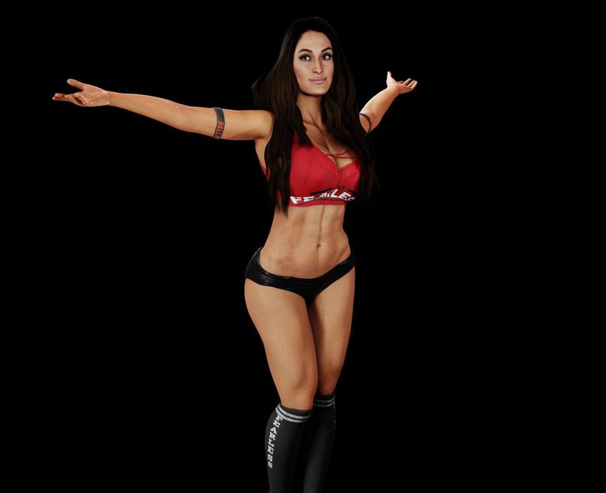 Nikki B - WWE 2k