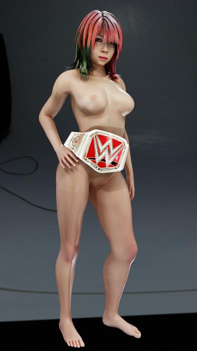 Asuka WWE2k