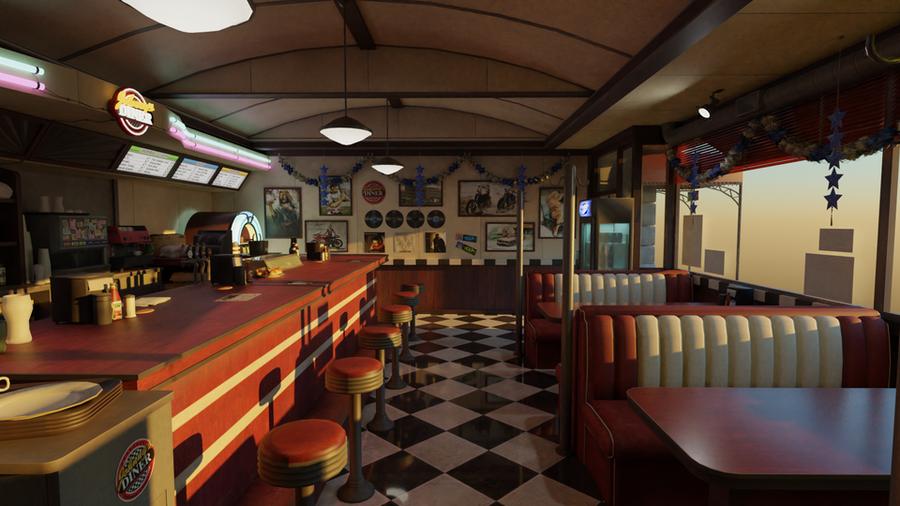 Johnny's Diner (Dead or Alive 5)