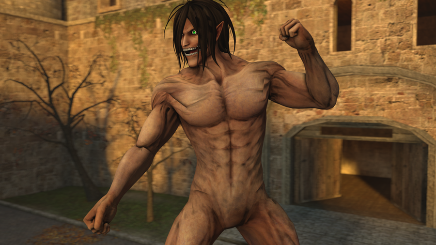 Eren Yeager Titan (Attack on Titan)