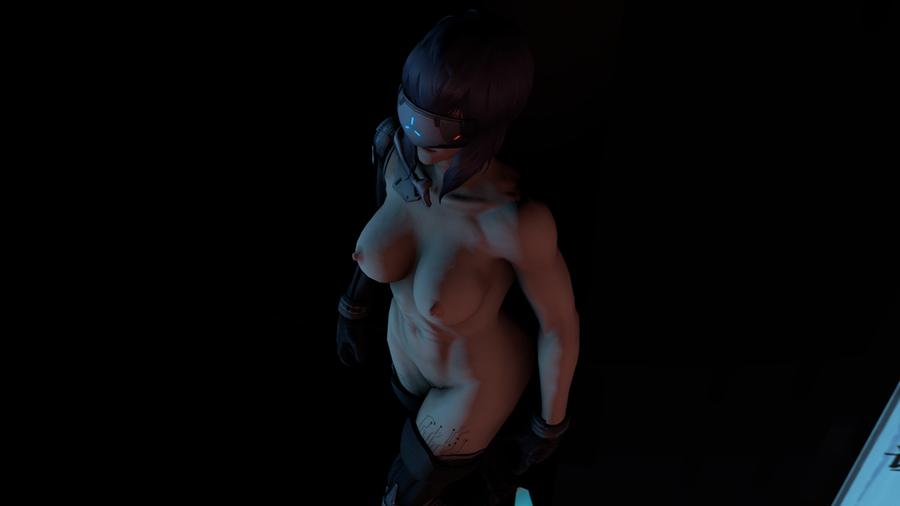 Motoko Nude Cyberized