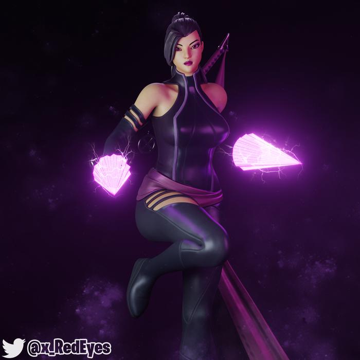 Psylocke | Fortnite Style