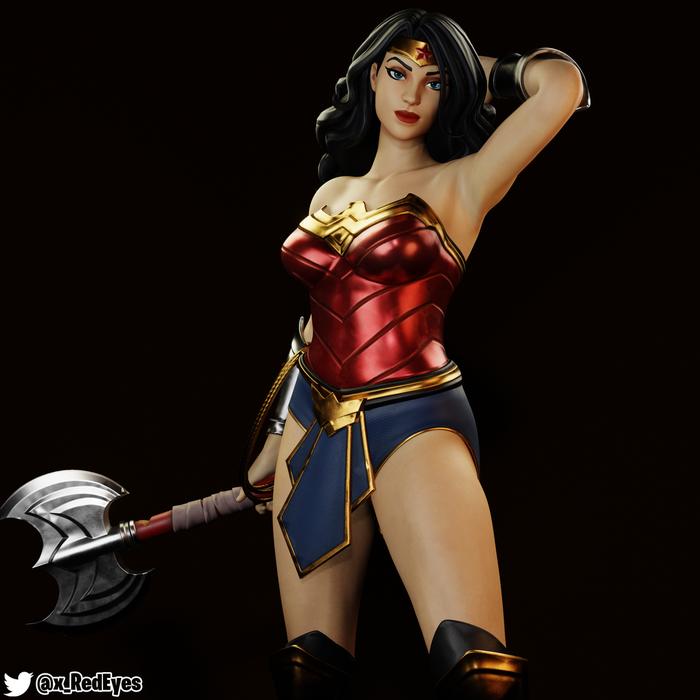 Wonder Woman   Fortnite Style