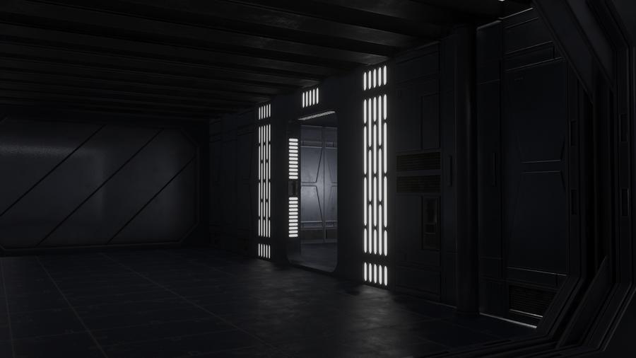 Star Wars Clone Wars Ship Corridor