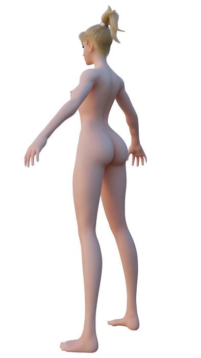 Mercy - Full Nude Body