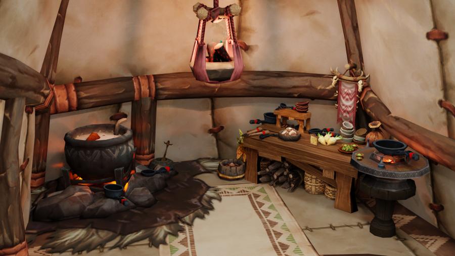 Tauren Hut for Blender