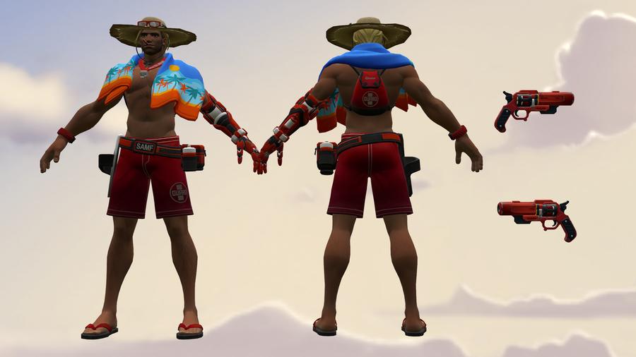 Lifeguard McCree [Overwatch]