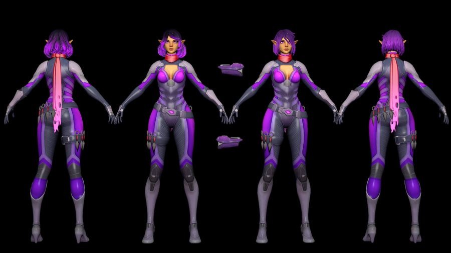 Operative Skye [Paladins Champions Of The Realm]