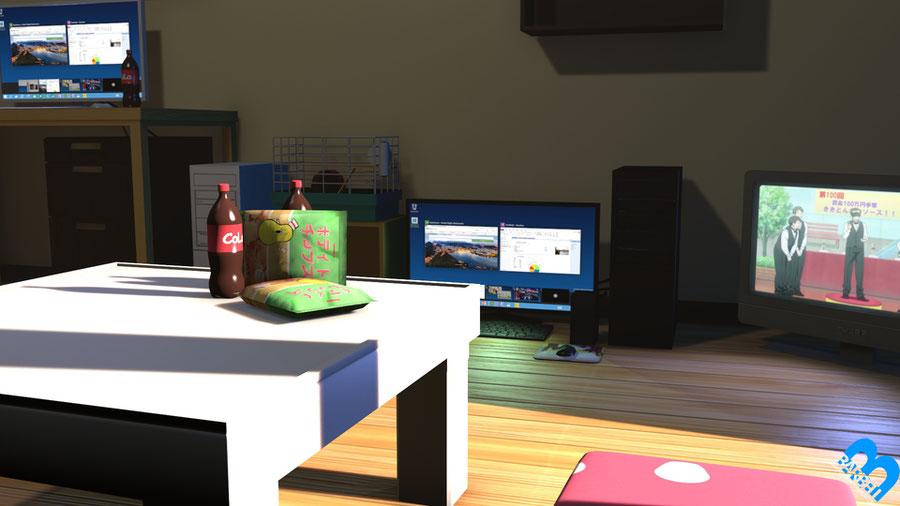 Model Release: Barbell – Umaru Apartment (Beta 1)