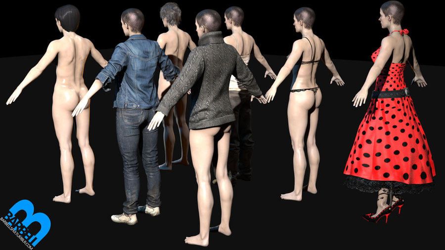 Barbell - Nude Zoe Baker V1 (not April fools edt)