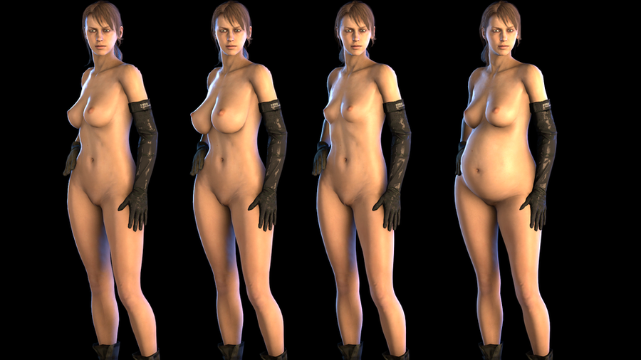 Quiet Nude [Metal Gear Solid V]