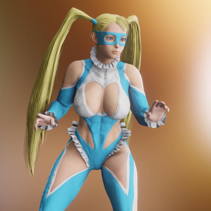 R.Mika - Street Fighter 5