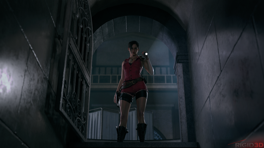 RE2 | Claire Redfield and Ada Wong