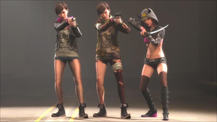 Resident Evil Revelations 2 Moria Burton