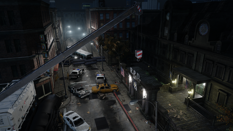 Resident Evil - Raccoon police Department building