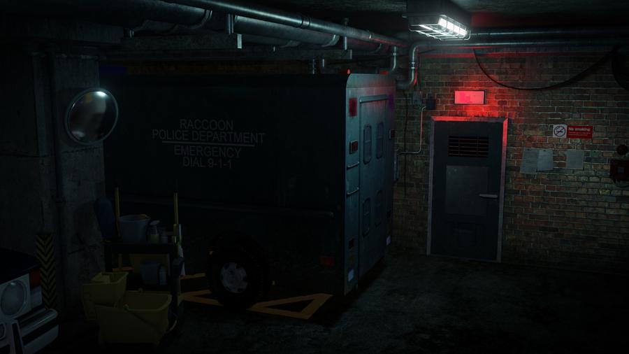 Resident Evil 2 - 1998 RPD Parking Lot
