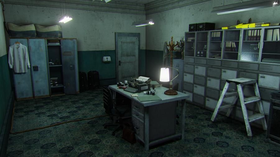 Resident Evil 2 - RPD Dark Room