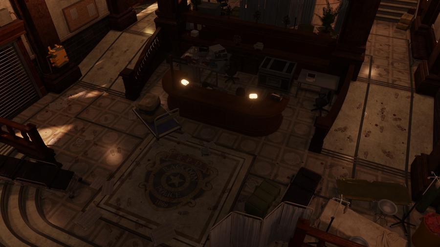 Resident Evil 2 - RPD Hall