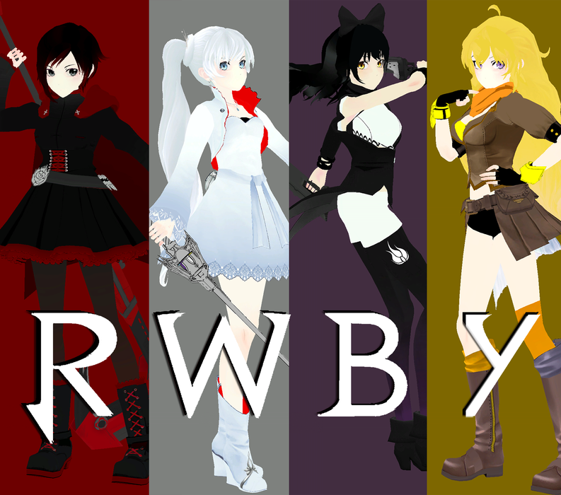 Rwby: Team RWBY Season 1 pack