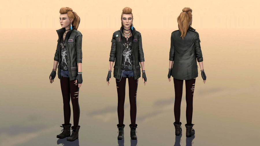 Rachel Amber [punk clothes]
