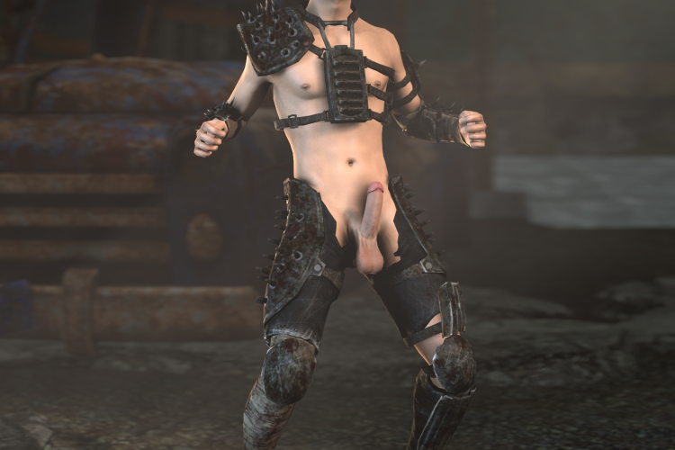 Fallout Raider - Ultimate Male Redux Outfit