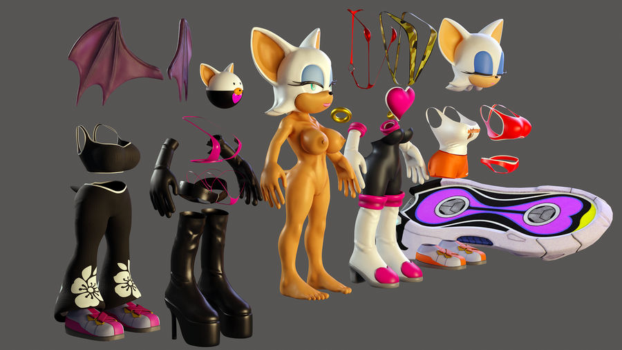 Rouge the Bat 2020 (Sonic the Hedgehog)