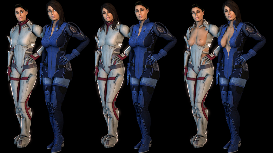 Ashley 2017 - Mass Effect 1 & Mass Effect 3