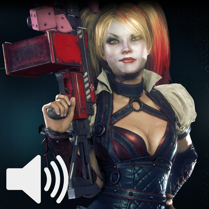 Harley Quinn Audio (Arkham Knight: Harley Quinn DLC)
