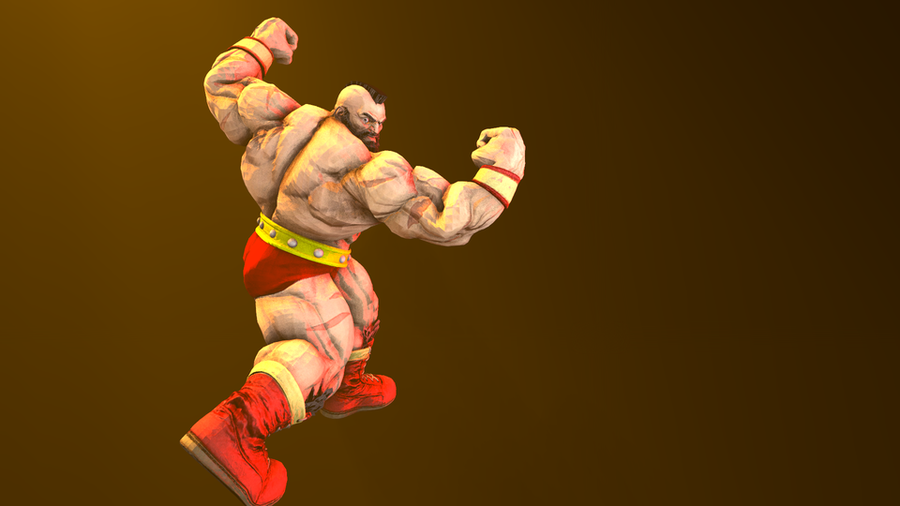 Street Fighter (IV + V) - Zangief