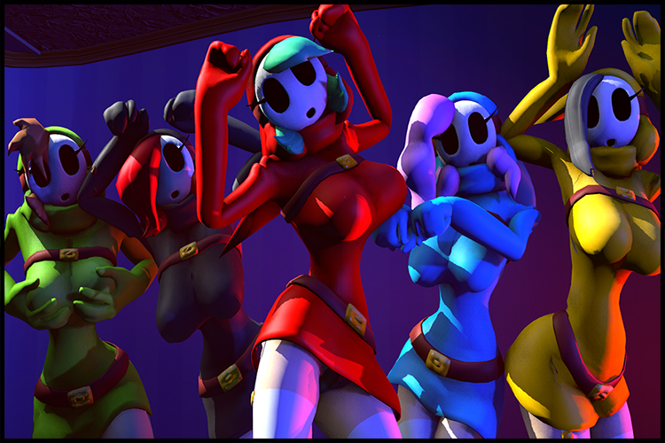Disembowell's Shygals - Dance Animations