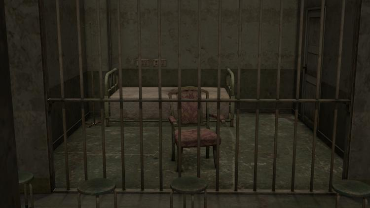 Silent Hill 2 - Maria prison