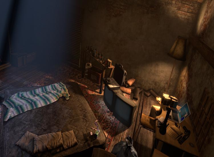 Gangster Safehouse Scenebuild