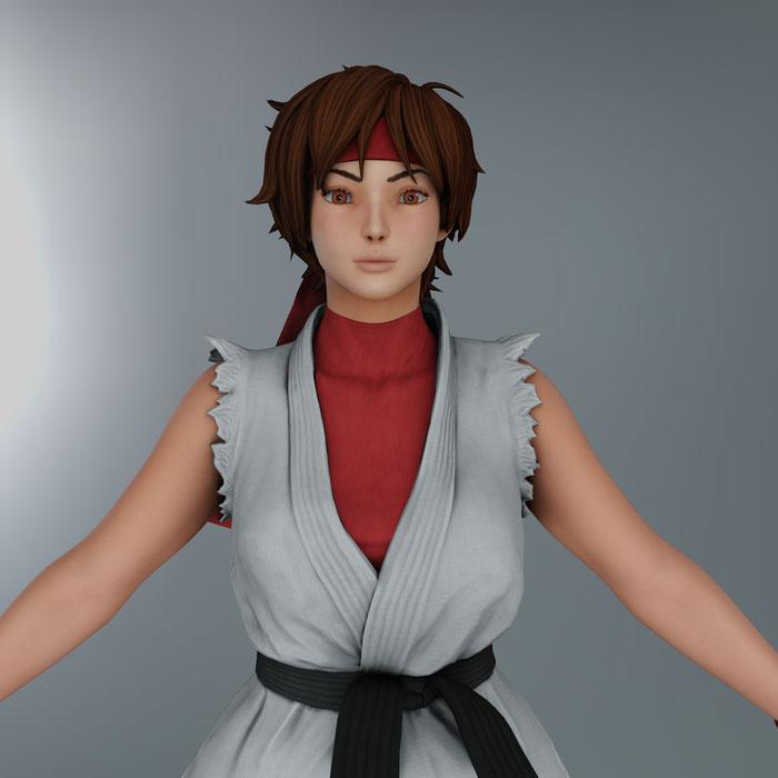 Sakura - Street Fighter 5