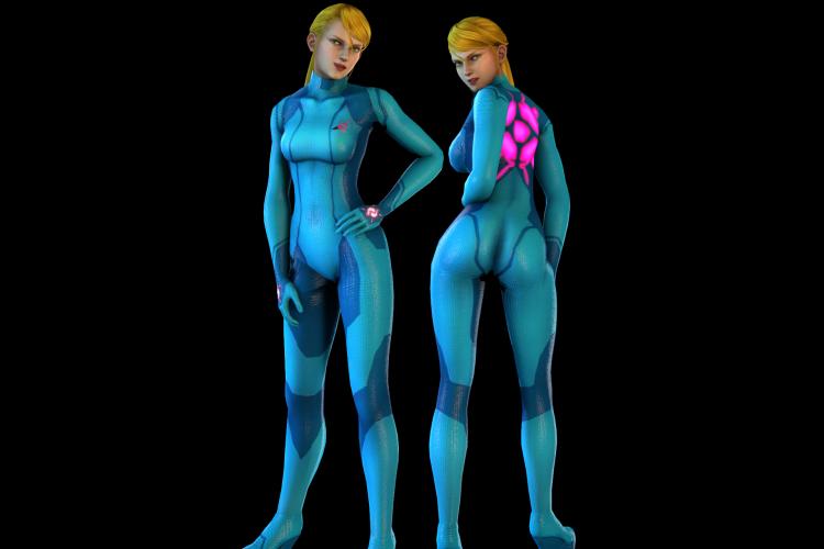 Samus Aran Bodysuit