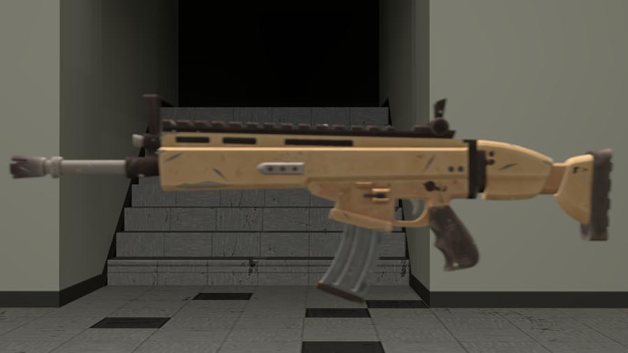 Fortnite Scar Model