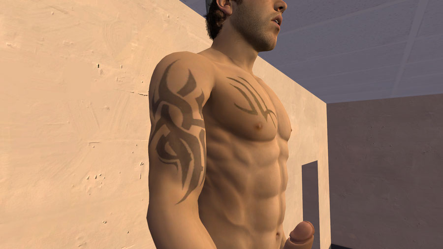 Gnin's Nude Ellis (Tatoo skin)