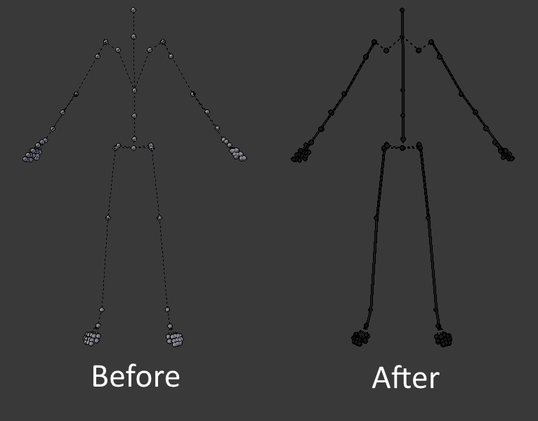 SFM to Blender skeleton script (Updated for 2.81) Now with automatic IK rig generation!