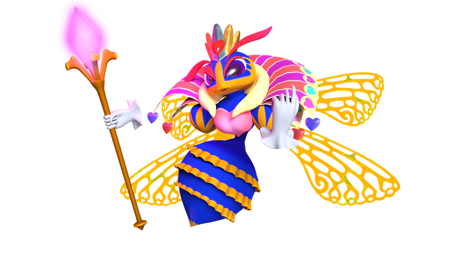 Queen Sectonia V1.2 (Kirby)