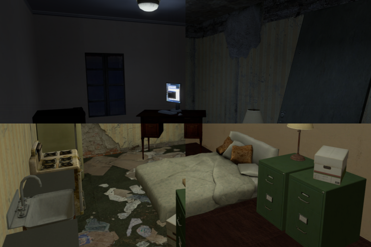 SFM Apartment - Trashy/Clean - Light/Dark