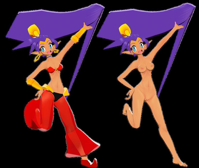 Shantae - Shantae and the Seven Sirens Op version