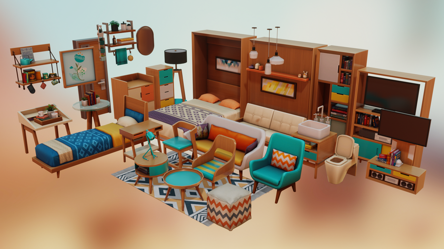 Sims4 - Tiny Living Pack