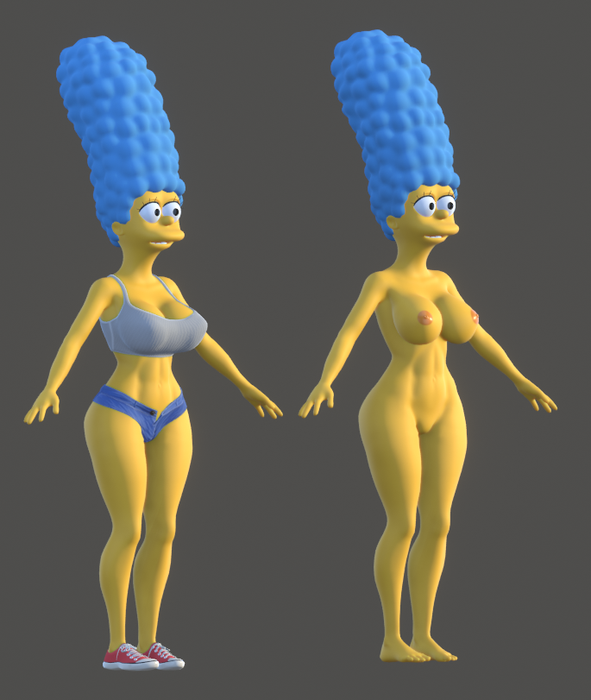 Marge Simpson (ver 0.0.1)