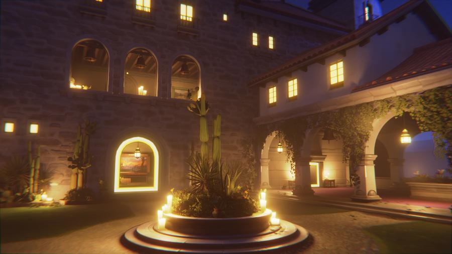 [Overwatch] - Dorado (Spawn and Main Square)