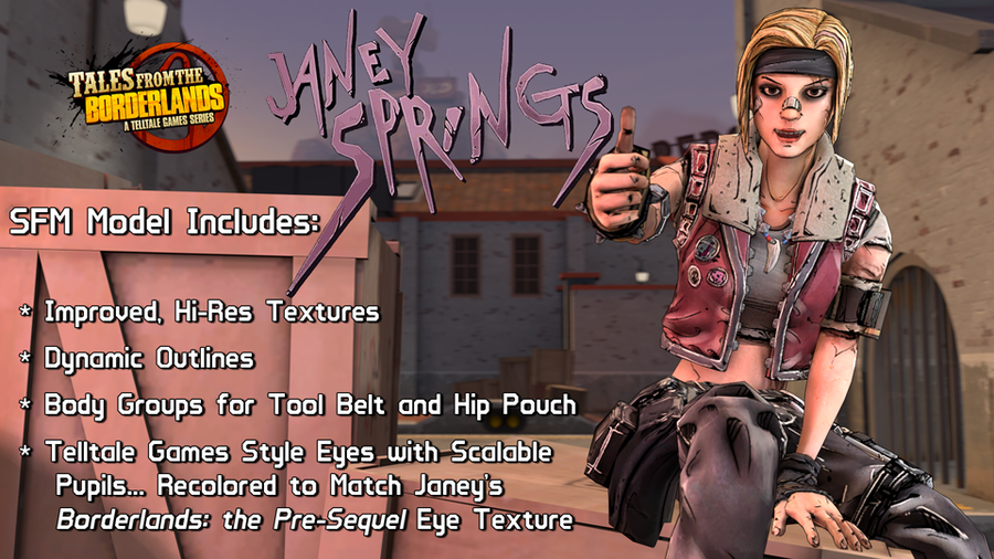 Tales from the Borderlands - Janey Springs