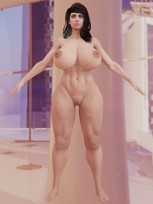 Nude Haydee Redux Beta v1