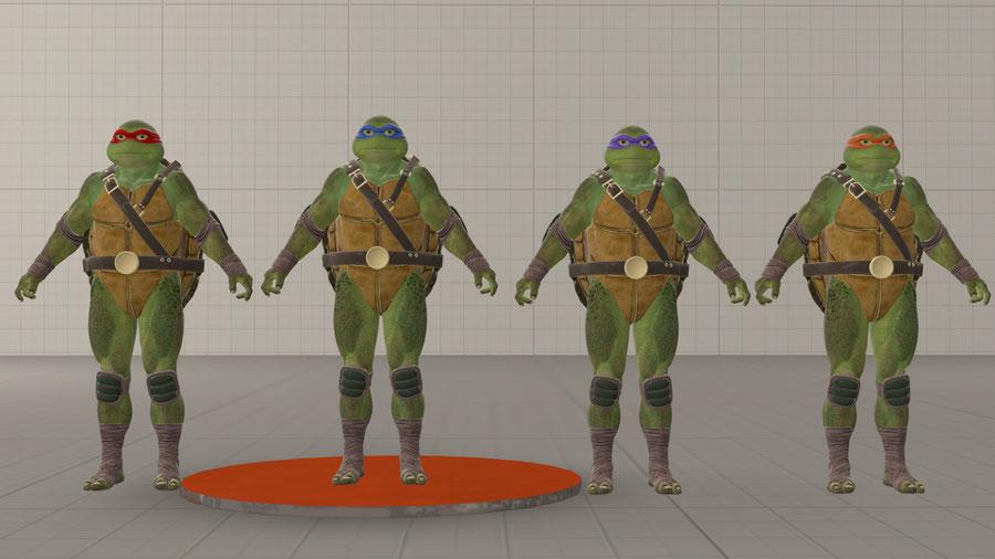 Teenage Mutant Ninja Turtles Injustice 2