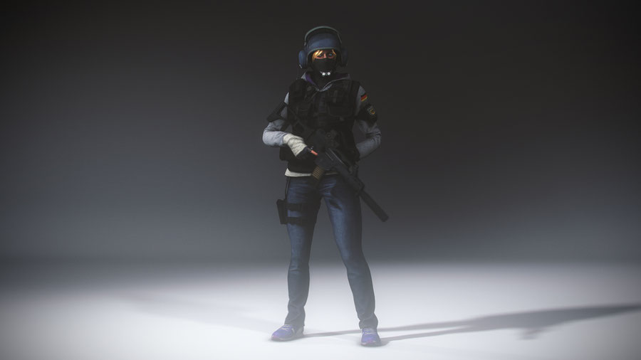 "Rainbow Six: Siege - Monika ""IQ"" Weiss [NSFW]"