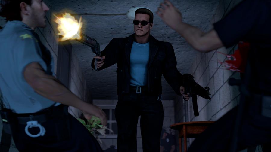 Arnold Schwarzenegger [T-800]