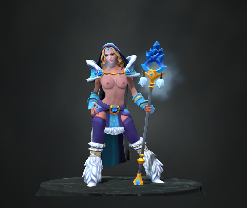 Crystal Maiden Topless Mod