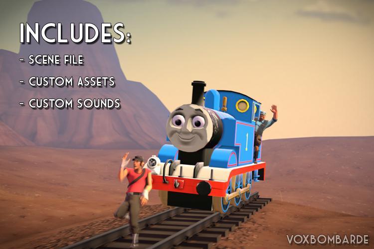 [DMX + Assets] Thomas the Tank Engine
